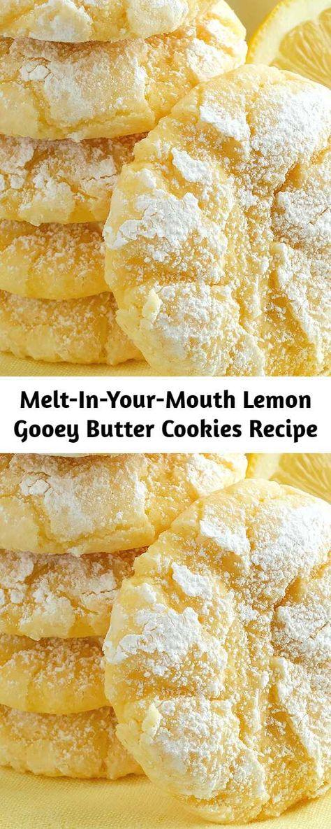 Lemon Desserts, Lemon Recipes, Mini Desserts, Just Desserts, Baking Recipes, Sweet Recipes, Cookie Recipes, Delicious Desserts, Dessert Recipes