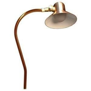 Unique Lighting Systems Canterbury 12v Copper Path Light With Articulating Shroud No Lamp Unique Lighting Lamp Copper Lamps