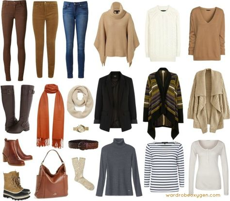 9f0af408ef6 capsule wardrobe casual winter. capsule wardrobe casual winter. Más  información. Real-Life Capsule Wardrobe  Chico s Travelers Collection   Sponsored