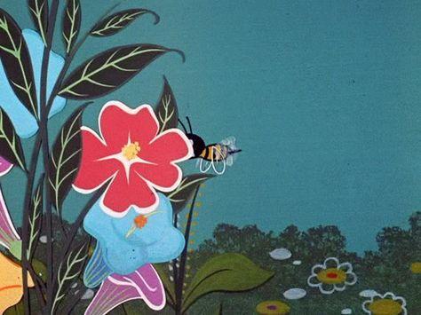 Fernando Montealegre - Hanna Barbera cartoon background