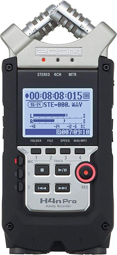 Zoom H4n Pro Digital Multitrack Recorder Multitrack Recording Multitrack Recorder Portable Audio