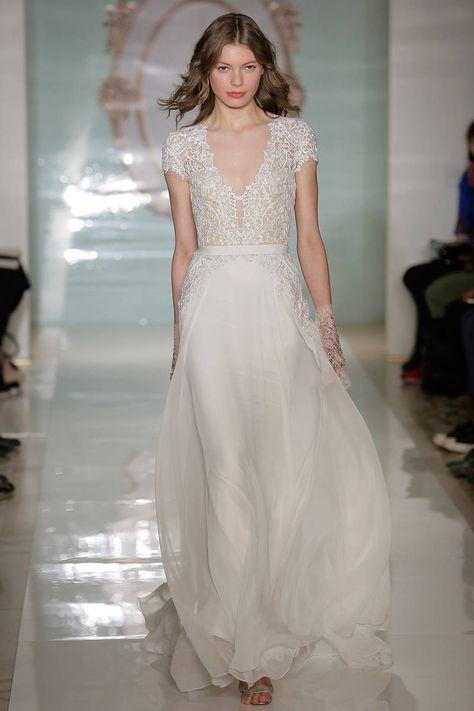 Reem Acra, Spring 2015 Wedding Dresses - 15 Designer Wedding Dresses for Spring - ELLE