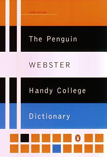 Download Pdf The Penguin Webster Handy College Dictionary Third Edition Reference Free Epub Mobi Ebooks Ebook Language Usage Word Origins