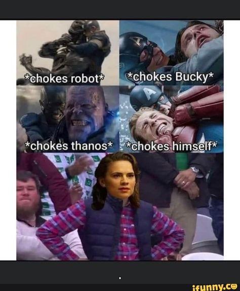 AN *chokes Buck' &chokes os* ll Choke *chokes robot - )