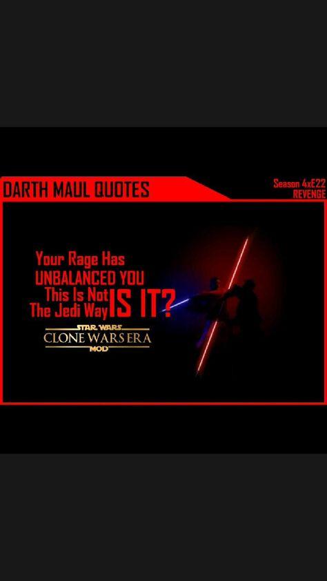 Darth Maul Quotes to Obi-Wan