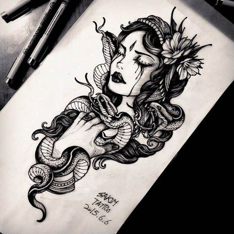Сollection of sketches - BeatTattoo.com