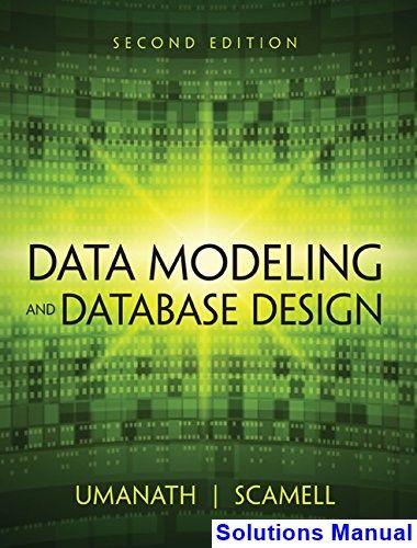 Data Modeling And Database Design 2nd Edition Umanath