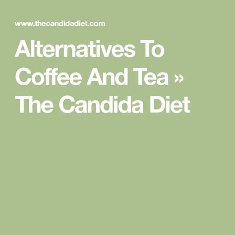 can you have decaf coffee on candida diet