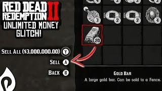 Red Dead Redemption 2 - Unlimited Money Glitch | Red Dead