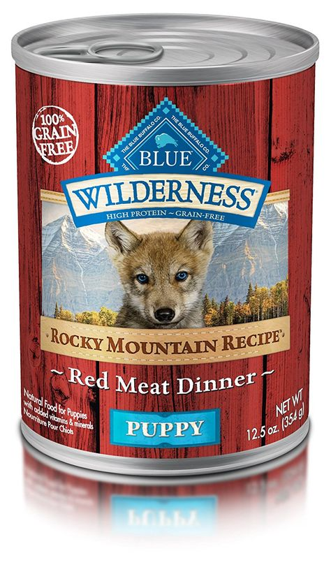 Blue Buffalo Wilderness High Protein Wet Puppy Food You Can