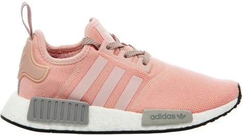 adidas nmd runner cinza com rosa