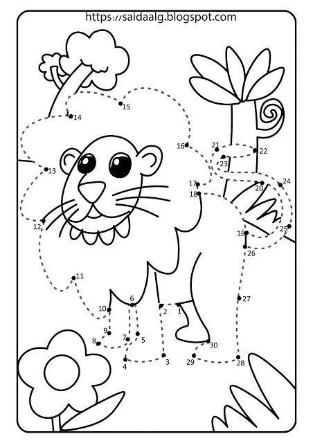 رسومات تلوين وتتبع الأرقام للأطفال Kids Rugs Blog Blog Posts