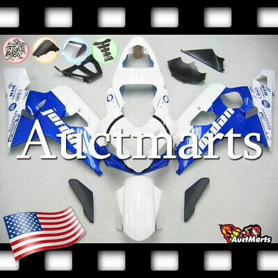 ABS Plastic Fairing Bodywork Injection Kit For Suzuki GSXR 600//750 2004-2005 US