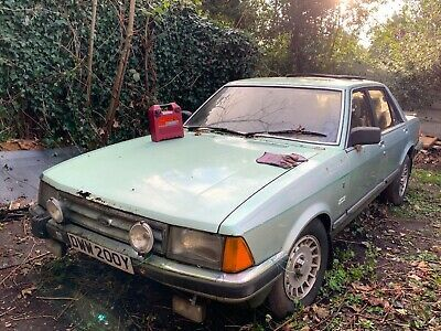 Ebay Ford Granada 2 8l Ghia X V6 Mk2 Barn Garage Find Spares Or Repair Ford Granada Classic Car Sales Granada