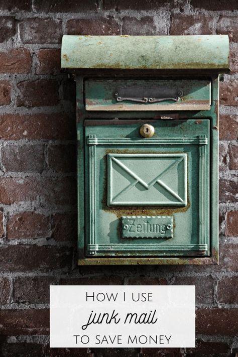 How I use Junk Mail to save Money! #moneysaving #coupons #savemoney #familybudgeting