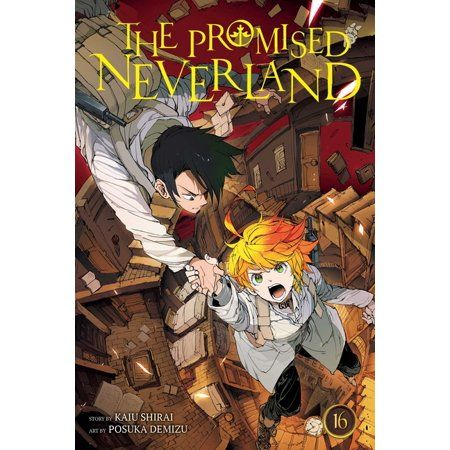 Promised Neverland The Promised Neverland Vol 16 Volume 16 Series 16 Paperback Walmart Com In 2021 Anime Manga Covers Neverland