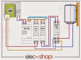 Shema De Branchement Pour Le Contacteur Jour Nuit Legrand Type 512501 En 2020 Contacteur Jour Nuit Installation Electrique Maison