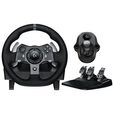 Logitech G920 Driving Force Racing Wheel With Shifter For Xbox Pc Dark Racing Wheel Xbox Pc Shifter