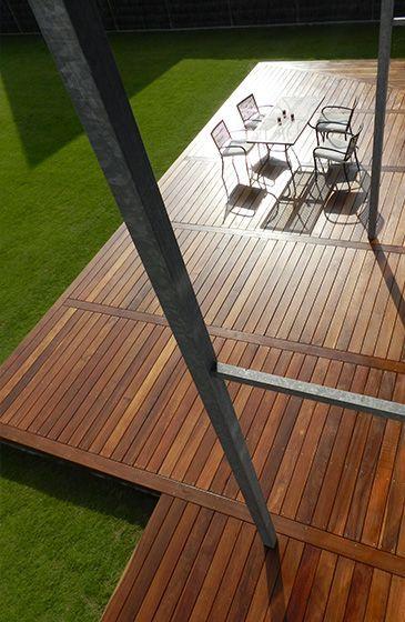 Lame en bois Cumaru pour Terrasse | Terrassen design ...