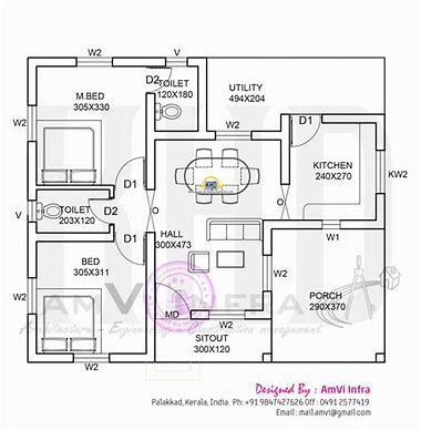 Image Result For 900 Sq Ft House Plans For 30x30 Space Kerala House Design Indian House Plans Affordable House Plans
