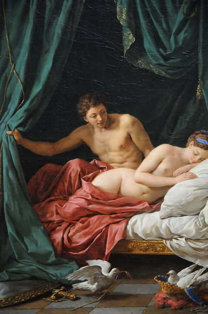 Mars & Venus, Allegory of Peace - Louis Jean François Lagrenée | Flickr - Photo Sharing!