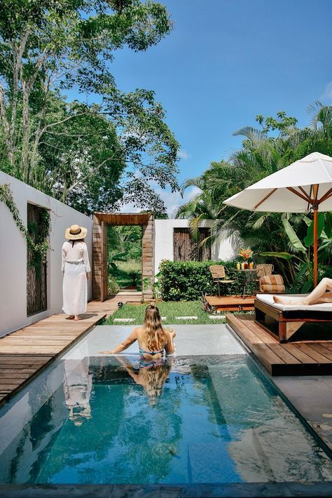 Private Plunge Pool Outdoor Shower And Garden What More Could