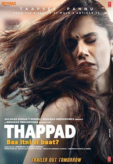 Thappad 2020 Hindi Pre Dvdrip 480p In 2020 Hindi Movies Full Movies Online Free Full Movies Download