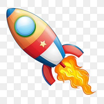 Flying Rocket Vector Rocket Clipart Boost Business Png And Vector With Transparent Background For Free Download Clip Art Graphic Illustration Retro Rocket