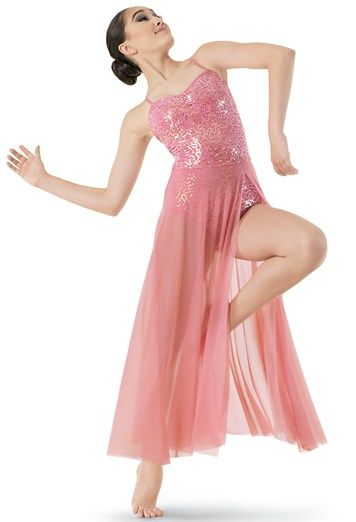 Sequin Lace & Mesh Maxi Dress | Balera™