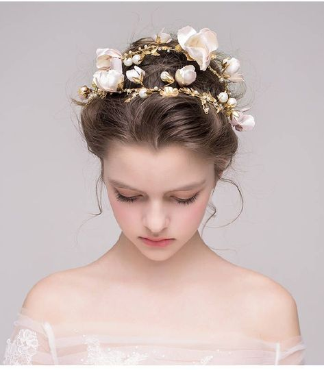 New Hair Accessories Bridal Makeup Ideas