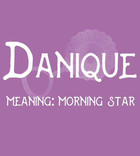 Danique - Sweet and Strong Dutch Baby Names for Girls - Photos