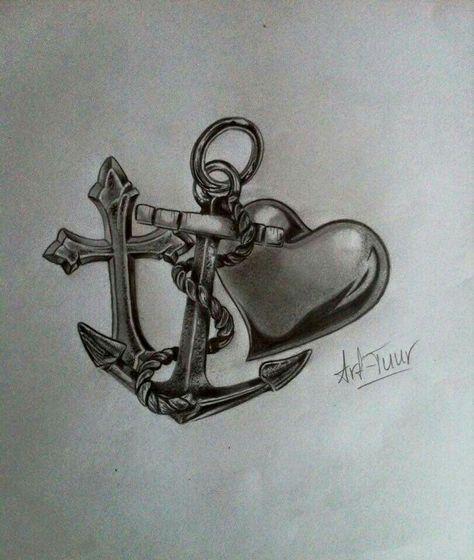 Geloof hoop liefde tattoo