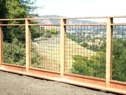 Hogwire Fence Hog Wire Panels Canada Pics Diy Network Mcciecorg Hog Wire Panels Hog Wire Fence Backyard Fences Diy Garden Fence