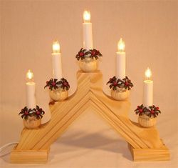 Swedish Candelabra Karin 5 Natural Swedish Christmas Traditions Scandi Christmas Swedish Christmas