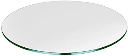 30 Round Glass Table Top 1 4 Thick Tempered Flat Polished In 2021 Round Glass Table Glass Table Glass Top Table 30 round glass table top