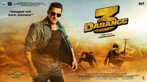 Presenting The Official Poster of Dabangg 3' Starring Salman Khan, Arbaaz Khan, Sonakshi Sinha