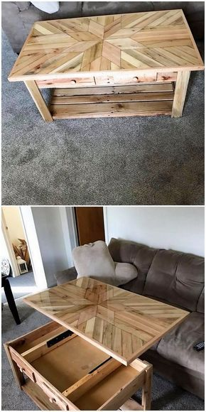 Inspired Diy Ideas For Old Wood Pallets Recycling Wood Table Diy