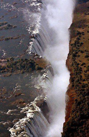 Devilu0027s Pool Zambia Sits on the lip of Victoria Falls Lakes - mr livingstone i presume