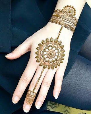 121 Simple Mehndi Designs For Hands New Mehndi Designs New