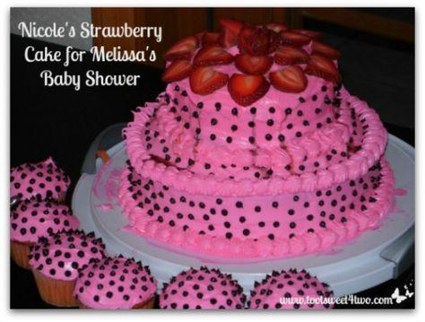 Nicole's Strawberry Cake