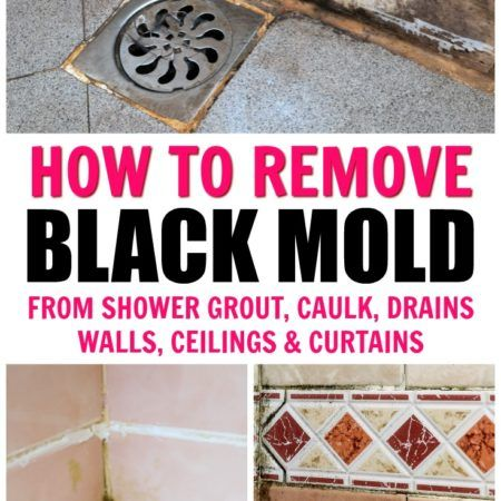 Cleaning Tutorials Black Mold In Shower Remove Black Mold