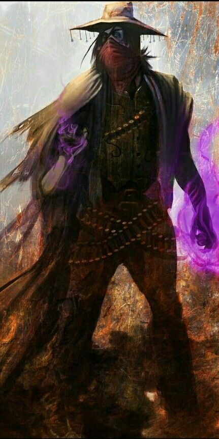 Fantasy Wizard Character Art