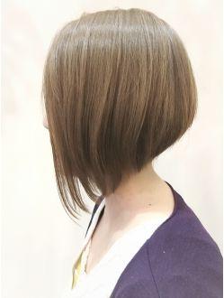ビサージジェニユイン 最新人気前下がりボブ ヘアスタイル 髪型 前下がりボブ