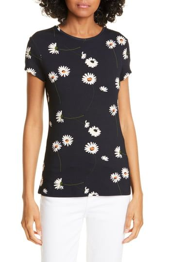 Ted Baker Ivory Neopolitan Fitted Tee