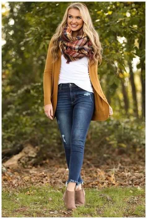Cozy Commitment Camel Cardigan at applepickingoutfit