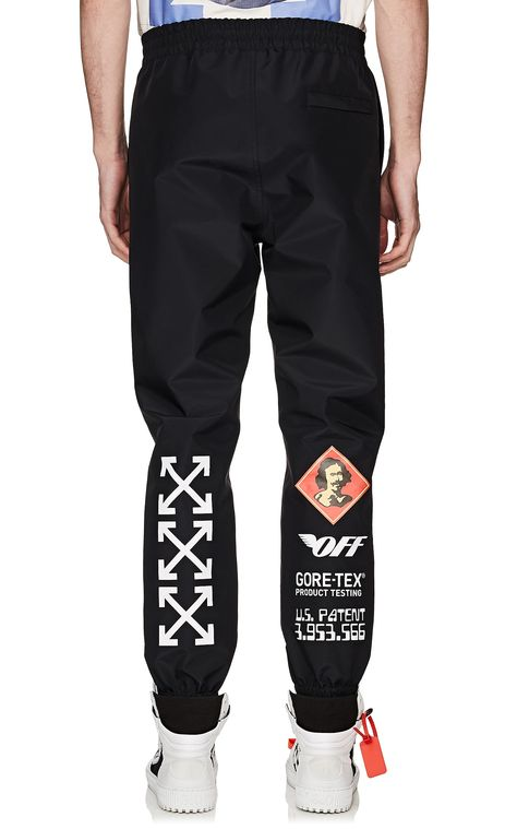 Off-White c/o Virgil Abloh GORE-TEX® Track Pants | Barneys New York