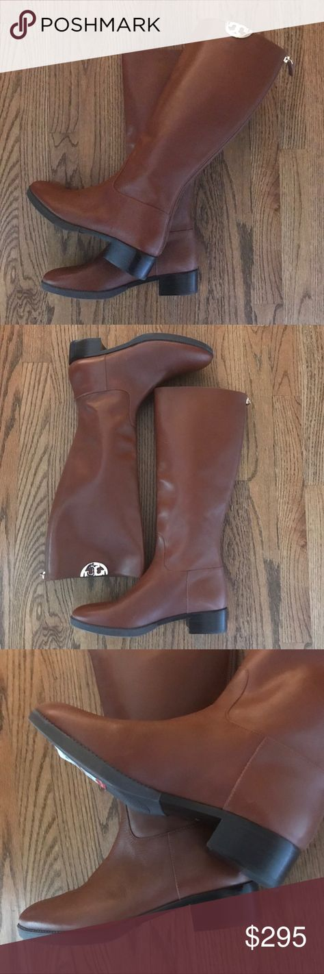 623d431e0d57 New Tory Burch Penny Brown Sidney Riding Boots 11 New in the original box.  No