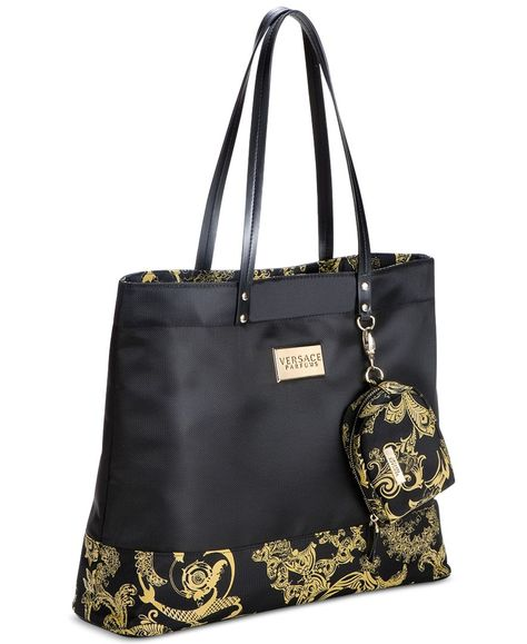 03ab245141 Receive a Complimentary Tote Bag with any large spray purchase from the  Versace fragrance collection