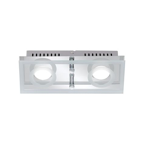 Paul Neuhaus 3-flammige, runde LED-Deckenleuchte in Aluminium matt - badezimmer led deckenleuchte ip44