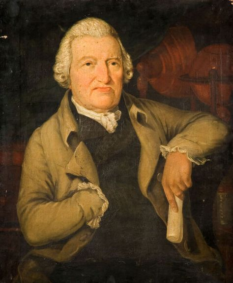 Portrait Of Dr William Bache, 1800. Creator: Unknown. A1 Poster. Portrait Of Dr William Bache, 1800.
